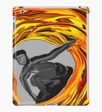 Surf metallica iPad Case/Skin