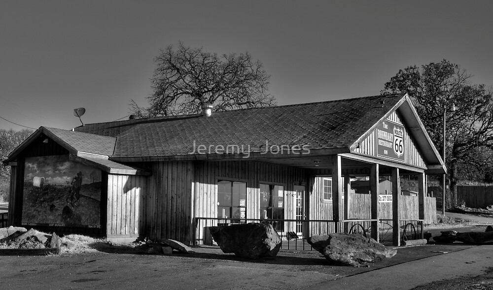 """""""The Boundary Restaurant"""" on Route 66! by Jeremy  Jones"""