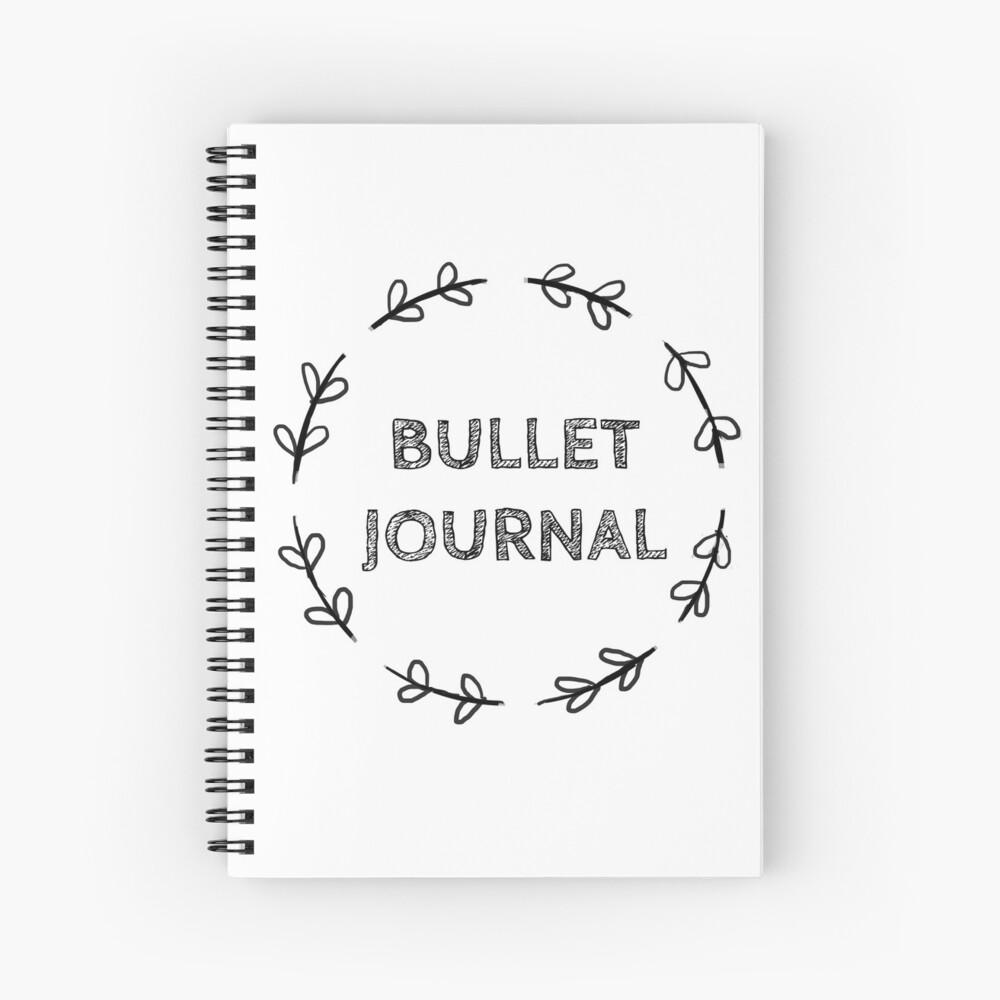 Einfaches Kugel Journal Spiralblock