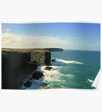 Loop Head Cliffs Poster