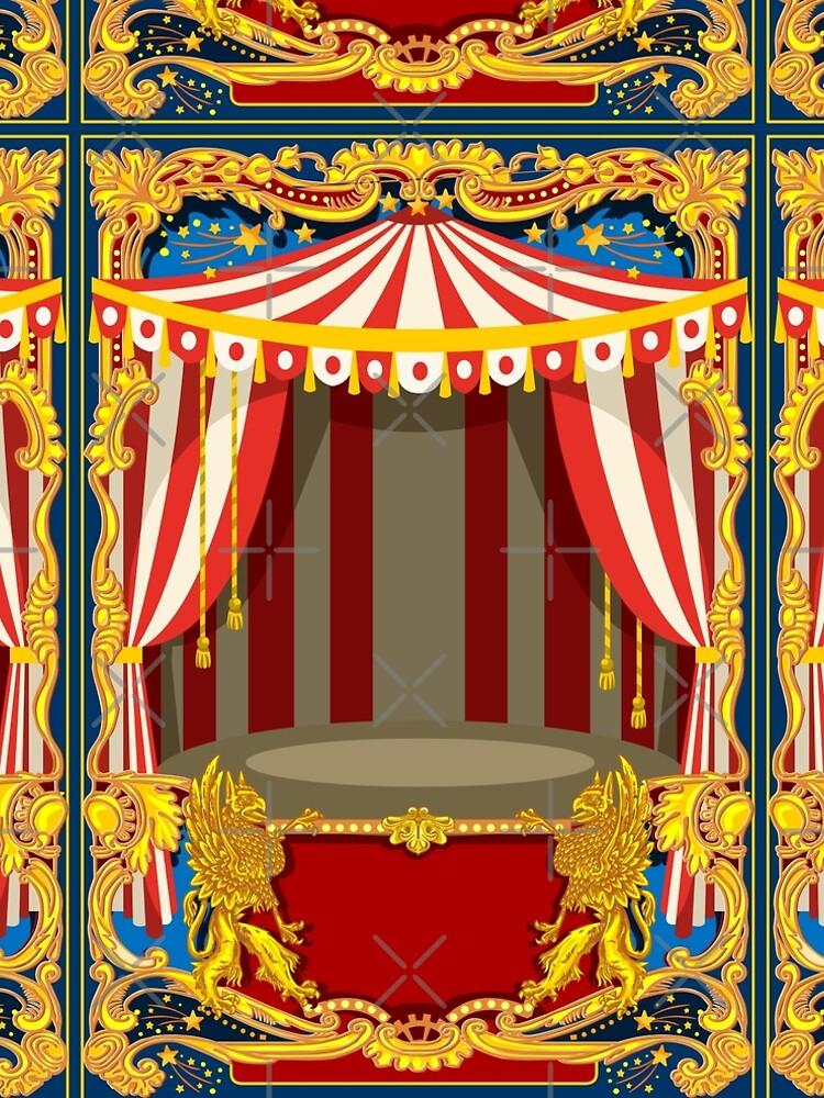 Karneval Zirkus Vintage von aurielaki