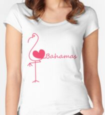 I love Bahamas Women's Fitted Scoop T-Shirt