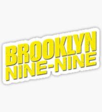 Brooklyn Nine Nine Logo Sticker