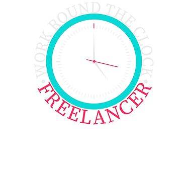 Freelancer work round the clock by Vi-Key