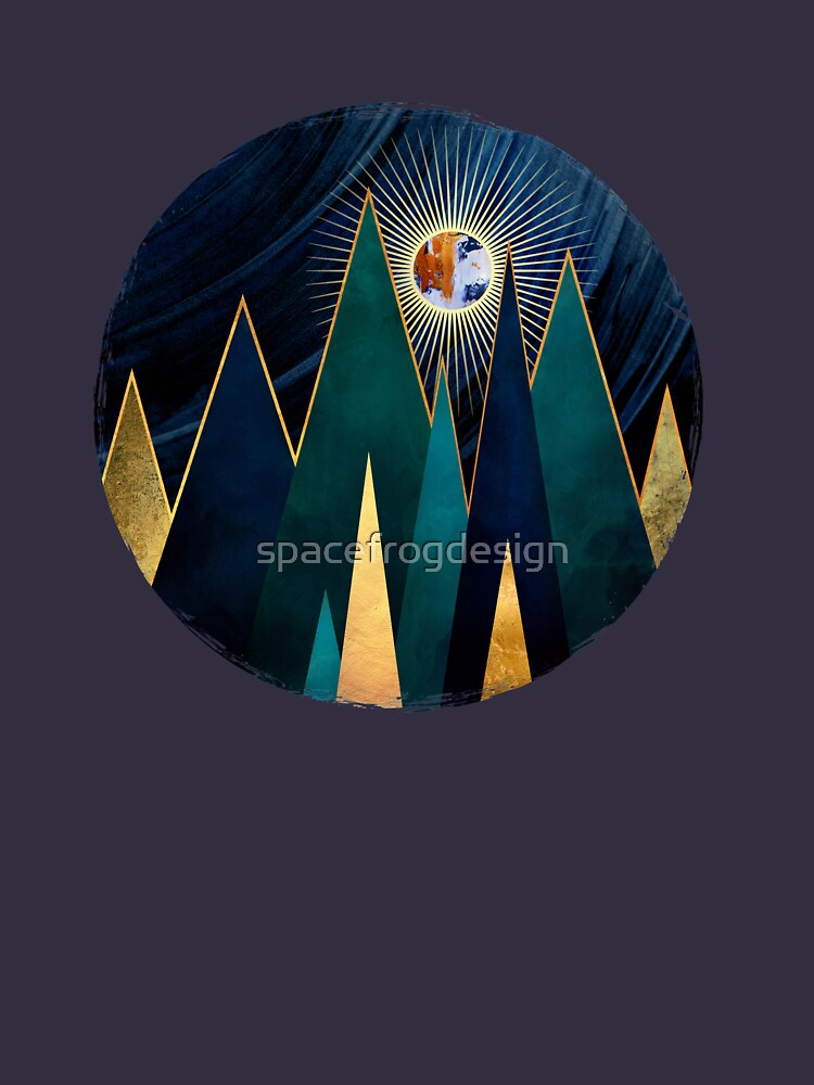 Picos metálicos de spacefrogdesign