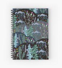 Summer meadow Spiral Notebook