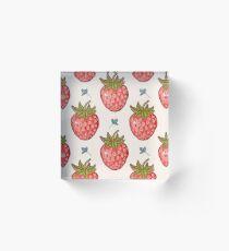 strawberry fields Acrylic Block