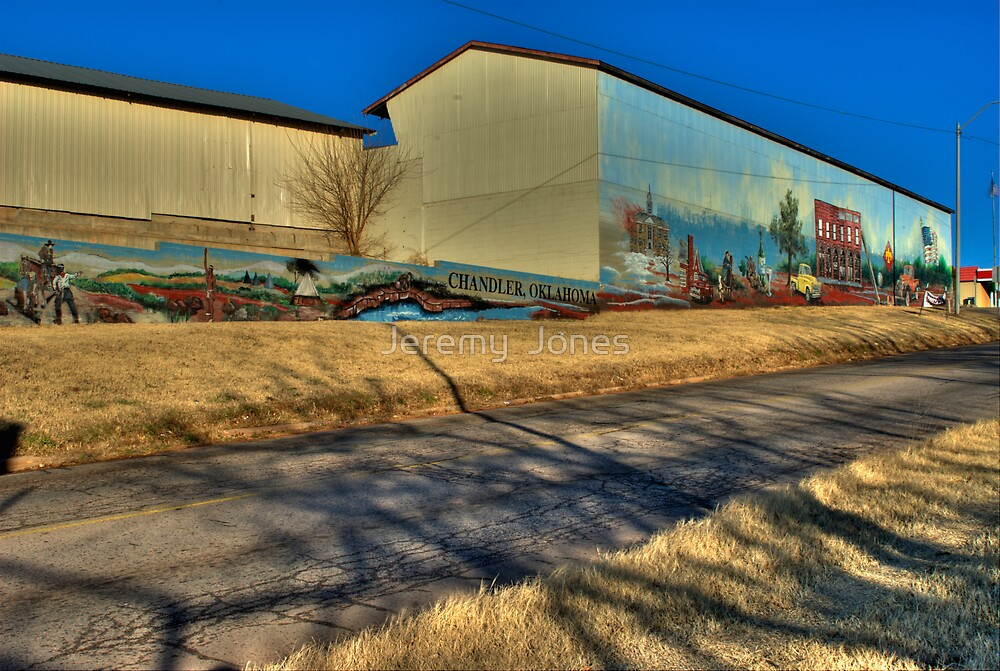 Route 66 Mural by Jeremy  Jones