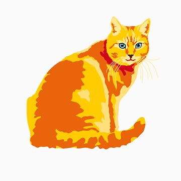 Ginger Cat by popdesign