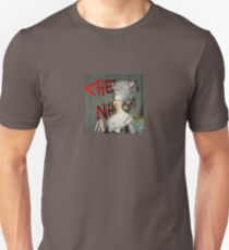 Cheerful Nihilist Graffiti Gal Unisex T-Shirt