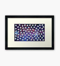 Rick galaxy Framed Print