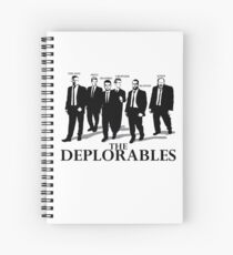 The Deplorables Spiral Notebook