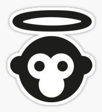 Monkey Gone to Heaven Sticker