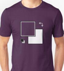 Foreground/Background Unisex T-Shirt