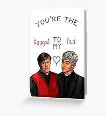 Father Ted Valentines Greeting Card