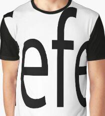 typography  Graphic T-Shirt