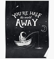 Half The World Away Poster