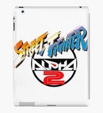 Street Fighter Alpha 2 Logo iPad Case/Skin