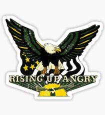 Rising UP Angry Sticker