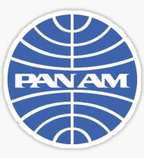 Pan Am Sticker