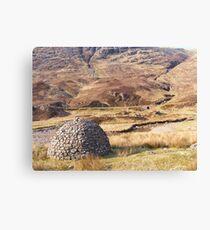 Scottish Igloo? Canvas Print