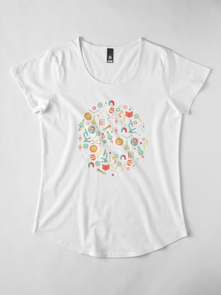 Alternative Ansicht von Wissenschaftsforschung Premium Rundhals-Shirt