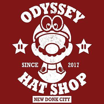 Odyssey Hat Shop by JRBERGER