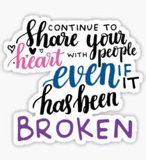 Amy Poehler Quote - Harvard Sticker