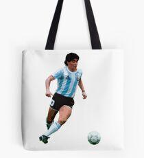 Diego Maradona (Argentina) Tote Bag