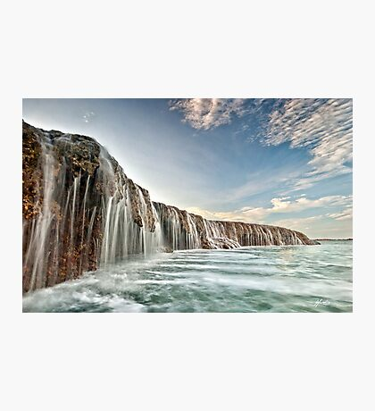 The Waterfall Reef  Photographic Print