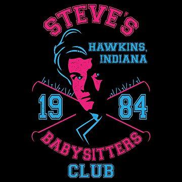 Steve's Babysitters Club by JRBERGER