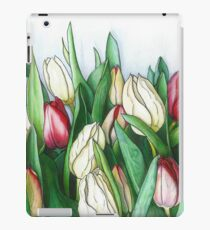 Bundle of Tulips Floral Painting iPad Case/Skin