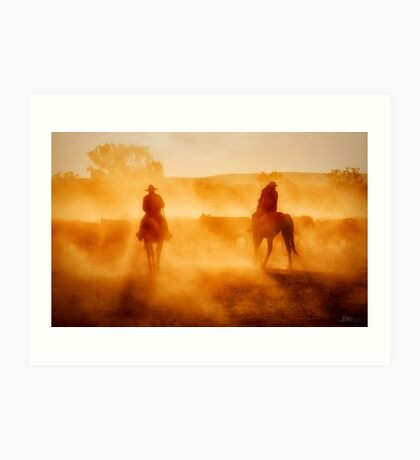 Life on the Land Art Print