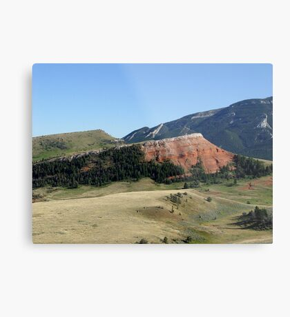 Pipestone Butte Metal Print