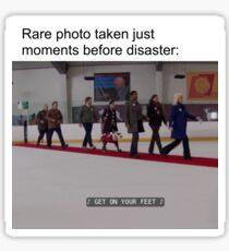 Rare Photo - Get On Your Feet Sticker