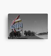 Ghost Motel Canvas Print