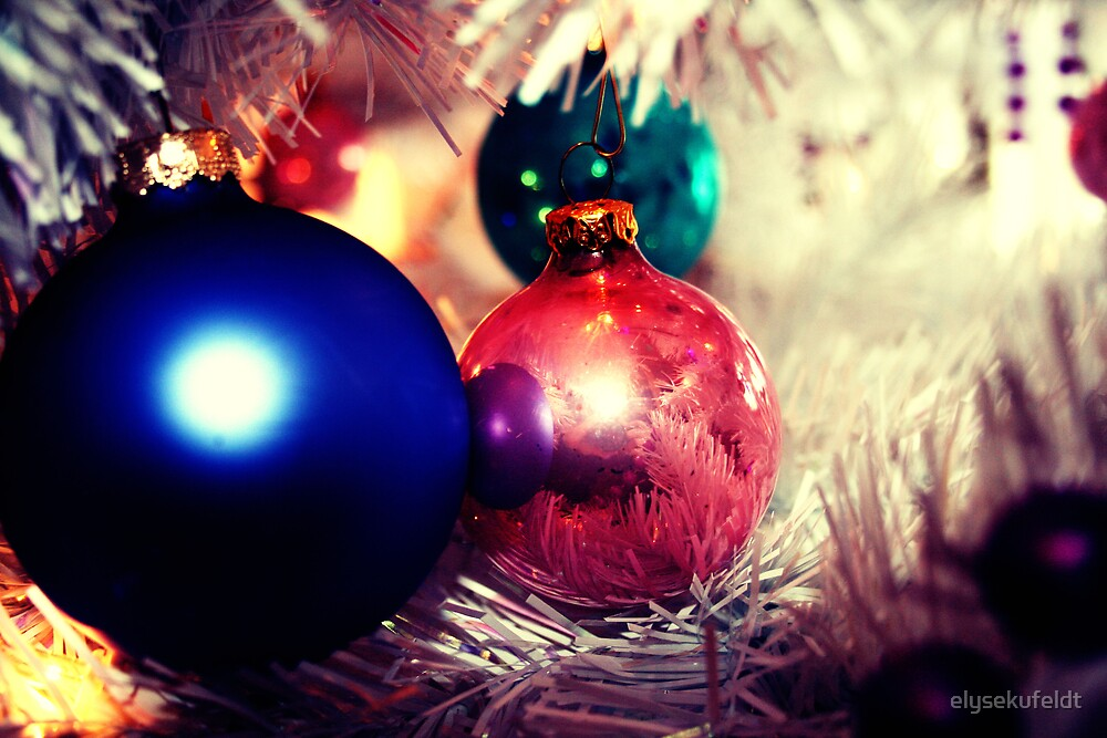 Aged Christmas Ornaments by elysekufeldt