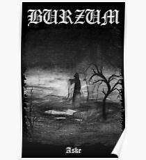 Burzum - Aske Cover Poster