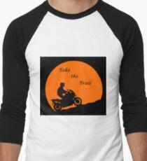 Take the Trail Adventure Biker Men's Baseball ¾ T-Shirt