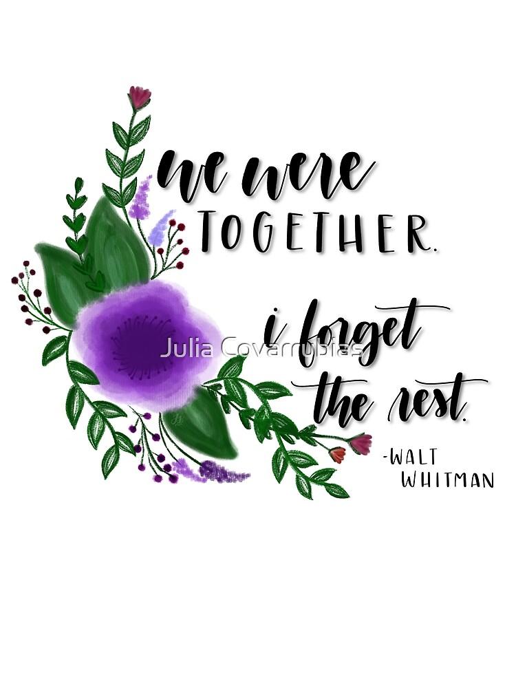 We were together by jschroyer