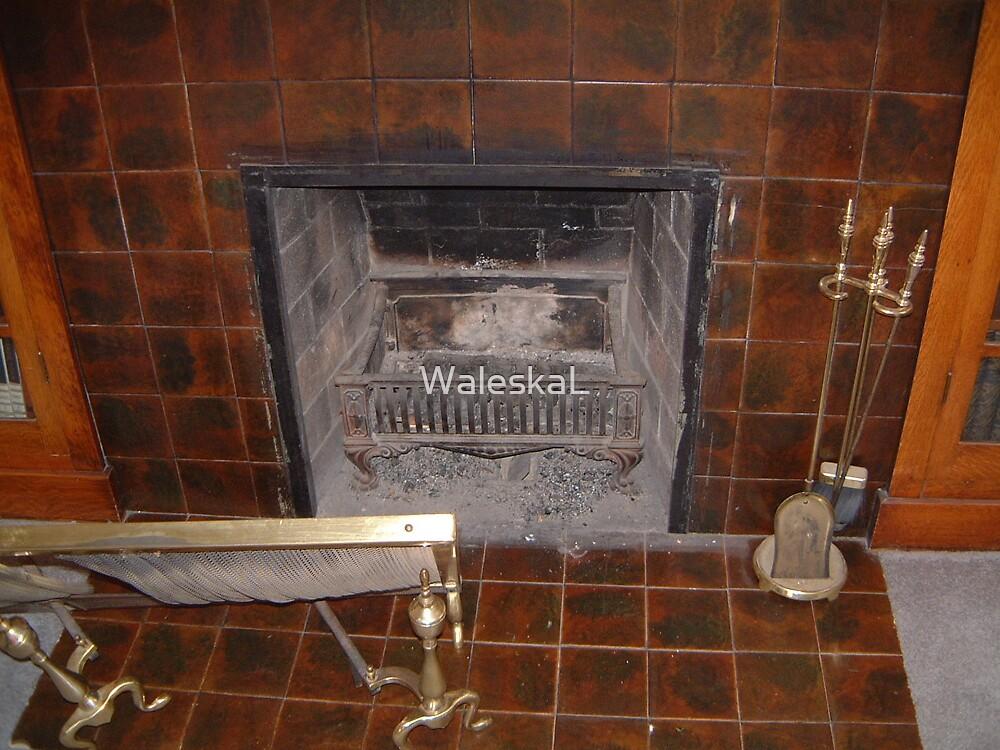 Old Fireplace by WaleskaL