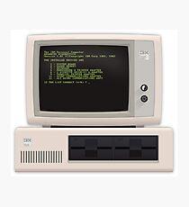 Material IBM PC Photographic Print