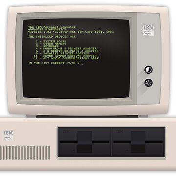 Material IBM PC by Phlum