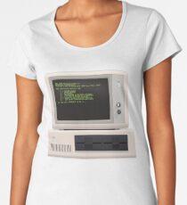 Material IBM PC Women's Premium T-Shirt
