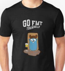 Camiseta ajustada Ve a fmt tu mismo