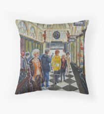 Royal Arcade, Melbourne (2) Throw Pillow