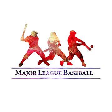 Major league baseball by AngelinaKovale