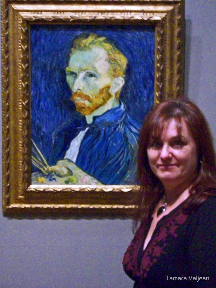 No Van Gogh (self portrait) by Tamara Valjean