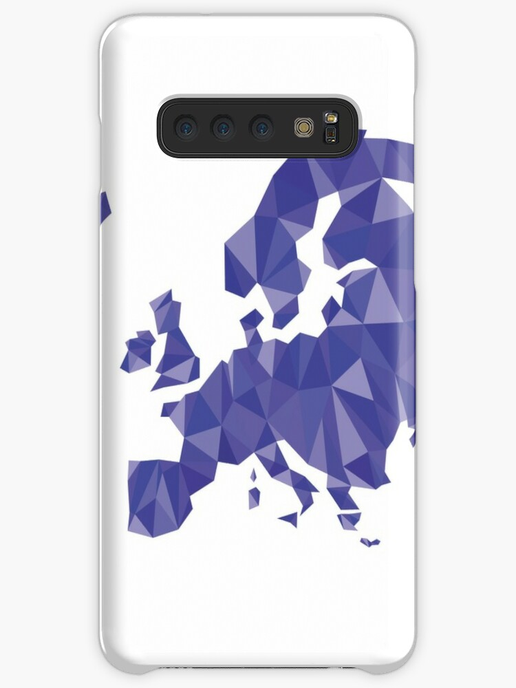 'Low poly Europe' Case/Skin for Samsung Galaxy by suarz