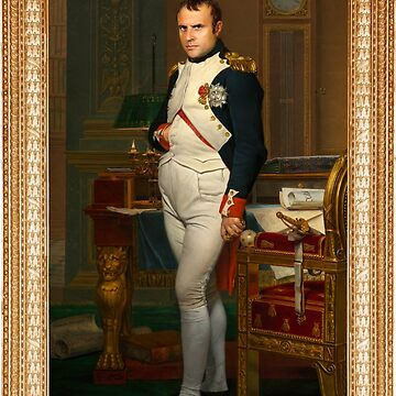 Portrait Officiel -un-Emmanuel-Macron-Napoleon-Bonaparte by DeplorableLib